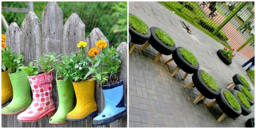 Pár jó ötlet a kerted dekorálásához - 20 tipp