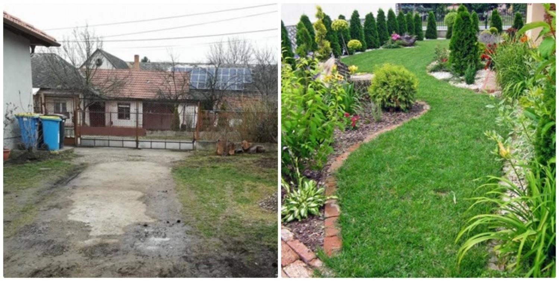 A semmiből két év alatt ilyen mesés kert lett