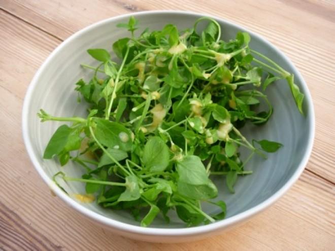 Isteni saláta készíthető ebből a tavaszi