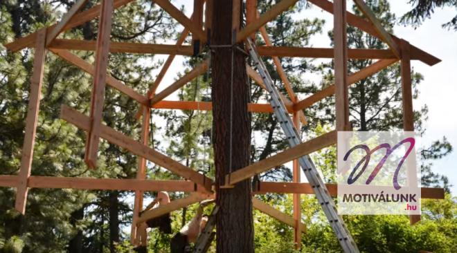 Nézd meg, milyen felgyorsítva egy faház megépítése!!!