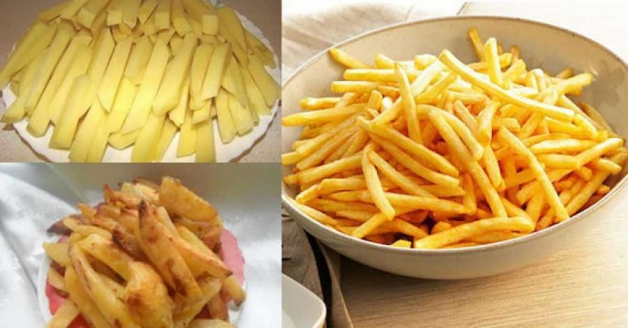 Így készül a finom sültkrumpli úgy, hogy egy gramm olaj sem kell hozzá!