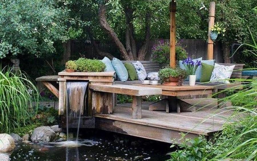 Zseniális kerti ötletek!